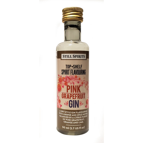 Still Spirits Top Shelf Pink Grapefruit GIN Flavoring (Does Not Contain Alcohol)