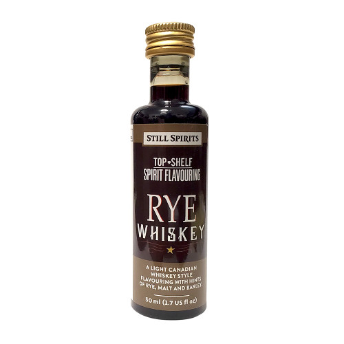 Still Spirits Top Shelf Rye Whiskey Flavoring (Does Not Contain Alcohol)