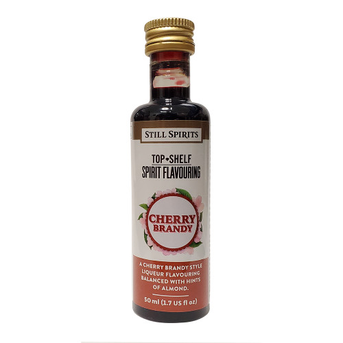 Still Spirits Top Shelf Cherry Brandy Flavoring (Does Not Contain Alcohol)