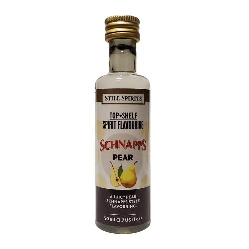 Still Spirits Top Shelf Pear Schnapps Flavoring (Does Not Contain Alcohol)