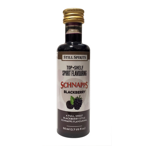 Still Spirits Top Shelf Blackberry Schnapps Flavoring (Does Not Contain Alcohol)