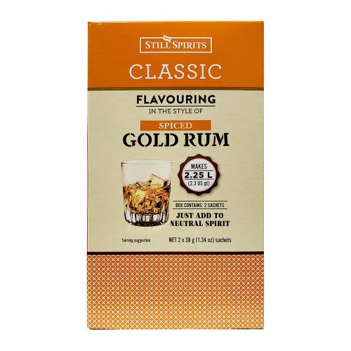 Still Spirits Classic Spiced Gold Rum Flavoring (Does Not Contain Alcohol)