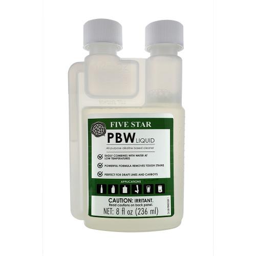 Five Star PBW Liquid Cleaner 8oz