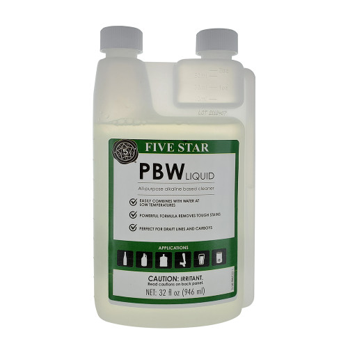 Five Star PBW Liquid Cleaner 32oz