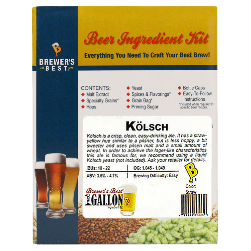 Kolsch Beer Kit - 1 Gallon