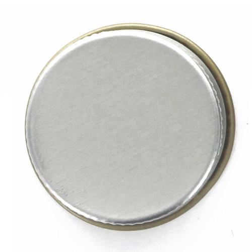 Silver 28mm Metal Screw Cap, (1) Single