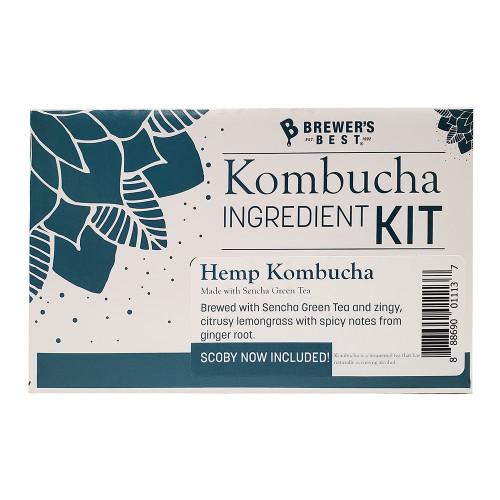Brewer's Best Kombucha Hemp Kombucha Ingredient Kit