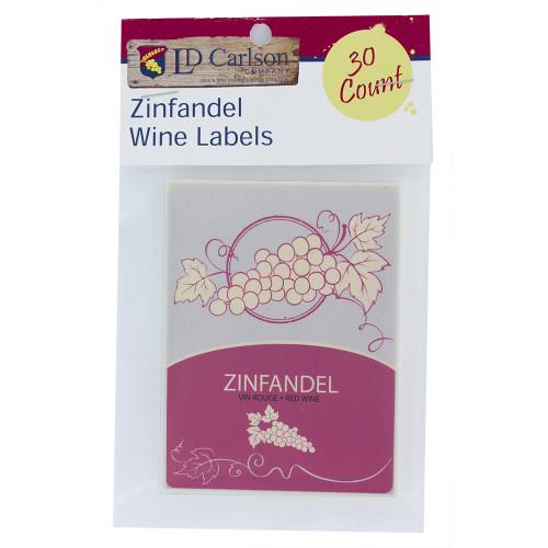 Wine Labels - Zinfandel