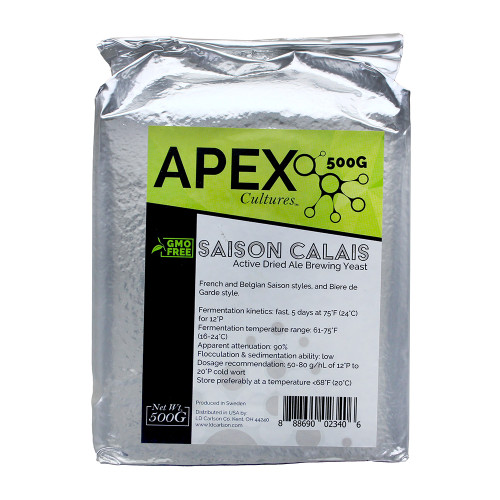 Apex Cultures Dry Brewing Yeast 500G Saison Calais (French Ale)