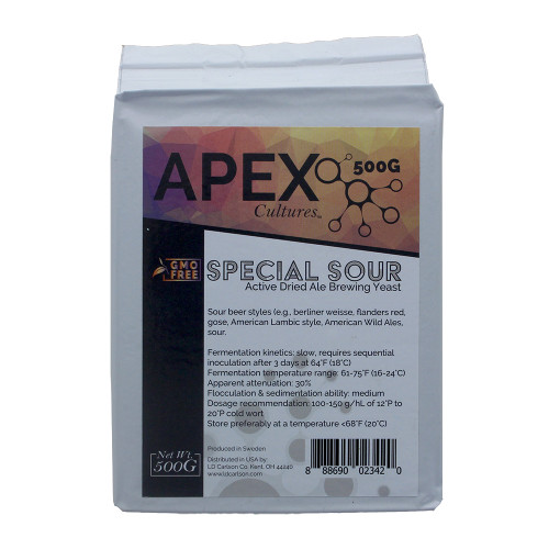 Apex Cultures Dry Brewing Yeast 500G (Special Sour Sour Beer)