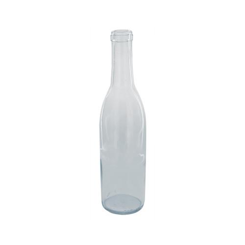 Clear Semi-Bordeaux Bottles - 375 mL - Case of 24