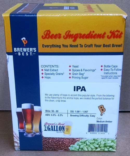India Pale Ale Beer Kit - 1 Gallon