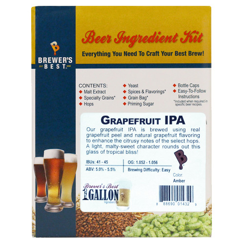 Grapefruit IPA Beer Kit - 1 Gallon