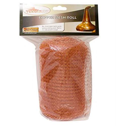 Fermfast Copper Mesh Roll 5 in X 20 ft - 8 oz