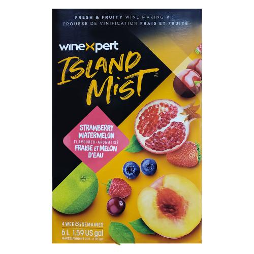 Wine Ingredient Kit - Island Mist Strawberry Watermelon White Shiraz - 6 Gallon