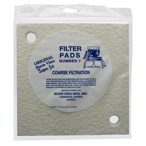 Buon Vino Super Jet Filters - Coarse #1