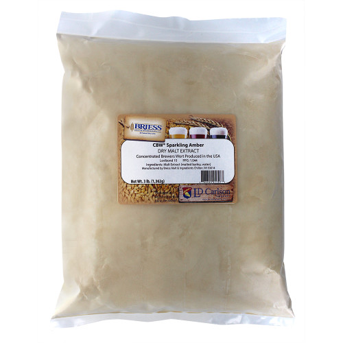 Briess Sparkling Amber Dry Malt Extract 3lbs
