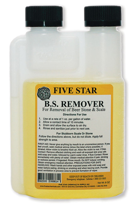 Beer Stone Remover - Five Star - 8 oz