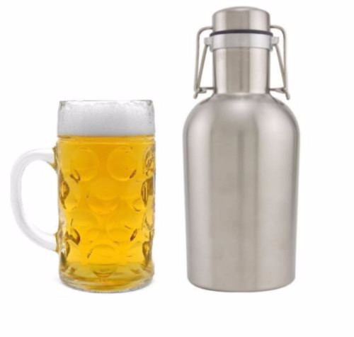 Apollo Beer Growler - Stainless Steel - 2 L