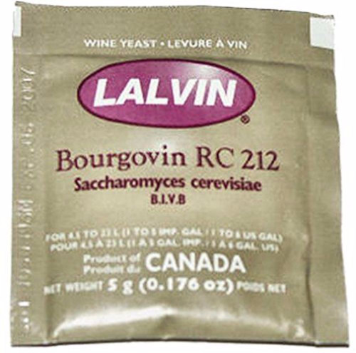 Lalvin RC-212 Wine Yeast - 1 Pack