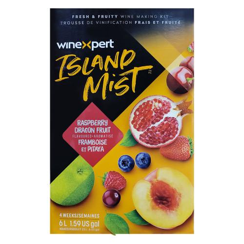 Wine Ingredient Kit - Island Mist Raspberry Dragonfruit Shiraz - 6 Gallon