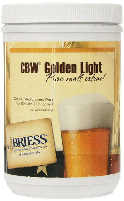Briess LME - Golden Light - 3.3 Lbs