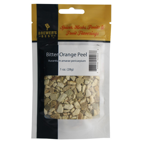 Herbs and Spices - Bitter Orange Peel - 1 oz