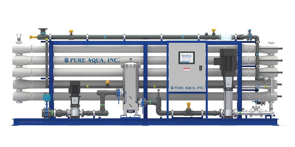 Industrial Brackish Water Reverse Osmosis BWRO Systems - image1