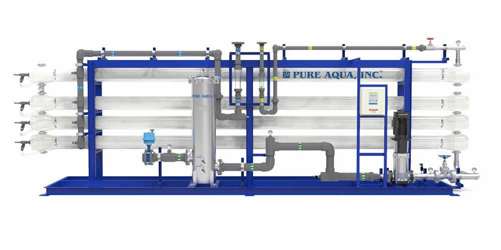 industrial reverse osmosis water filter system
