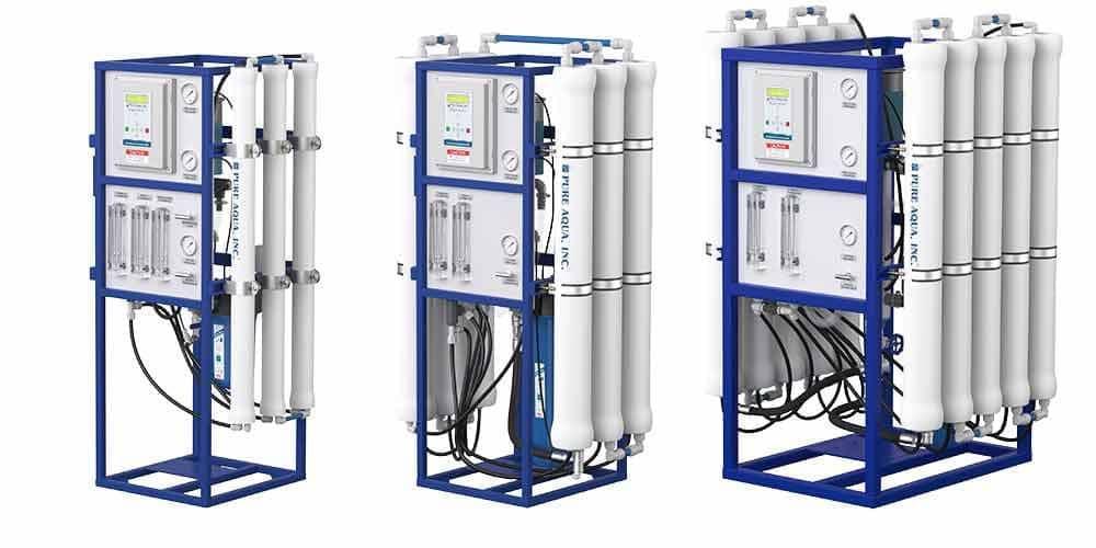 Commercial Reverse Osmosis using dildos deep