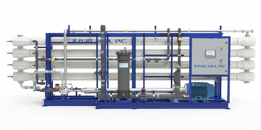 Industrial Seawater Reverse Osmosis Desalination Systems-Image 1