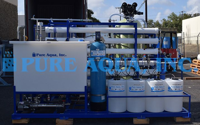 Explosion Proof Double Pass SWRO System Indonesia