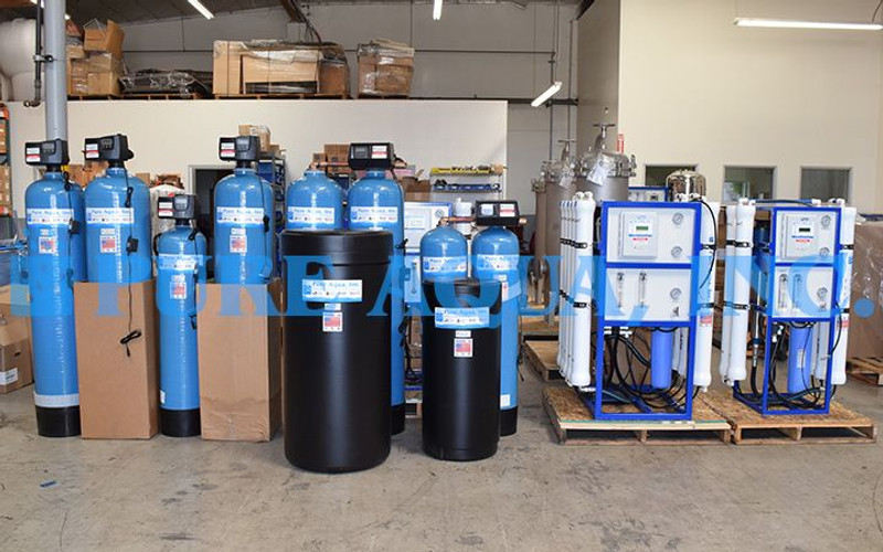 Reverse Osmosis System Followed by Mixed Bed Deionizers Kuwait