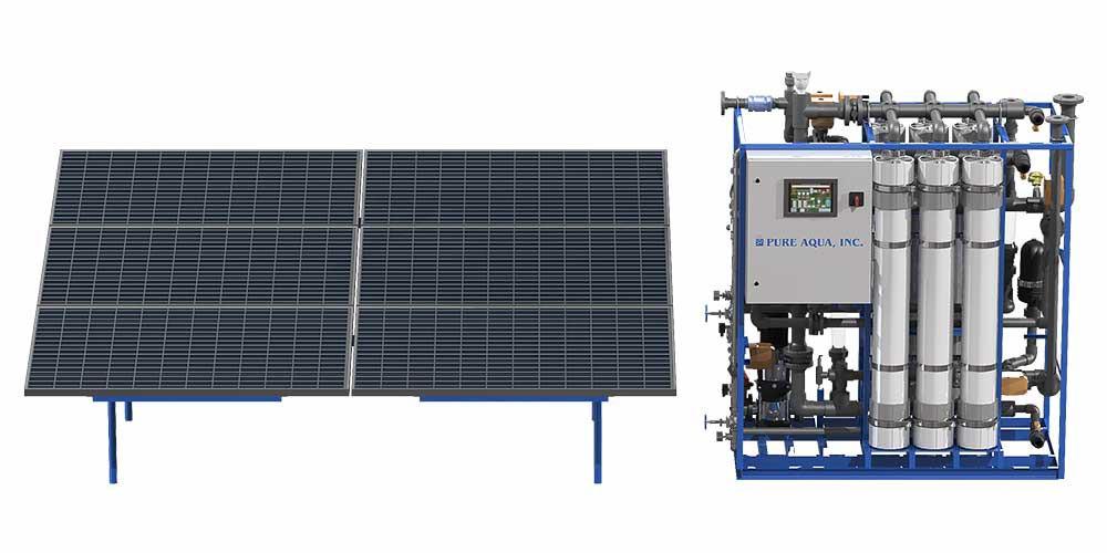 Solar Powered Ultrafiltration UF Systems (Solar Powered Ultrafiltration UF Systems)