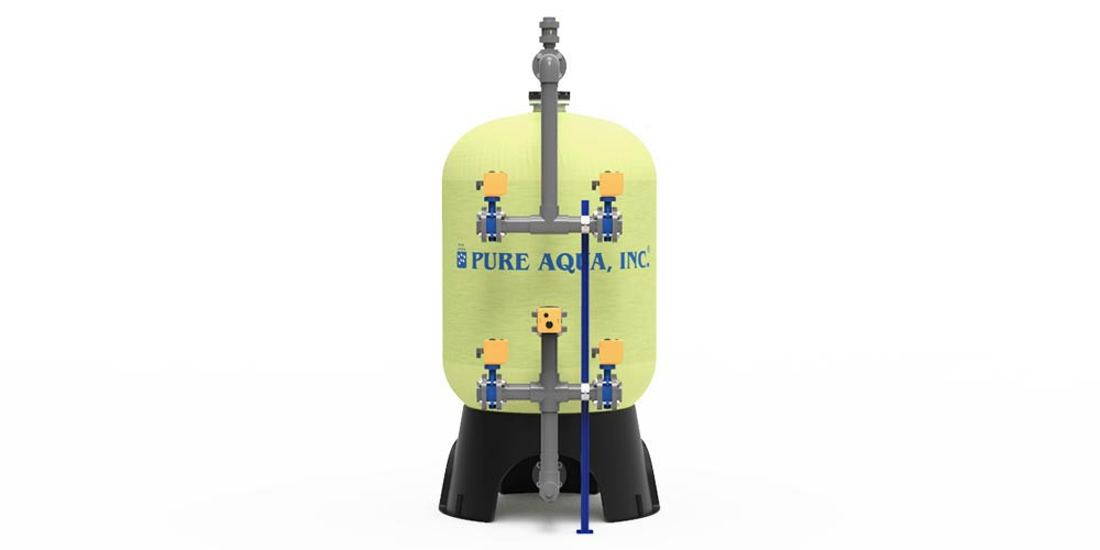 Anthracite multi media filtration machine-Image1