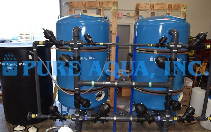 Commercial Filtration System for Hospital Building Jordan