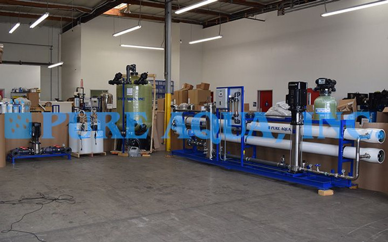 Industrial Reverse Osmosis Machine for Water Bottling Algeria