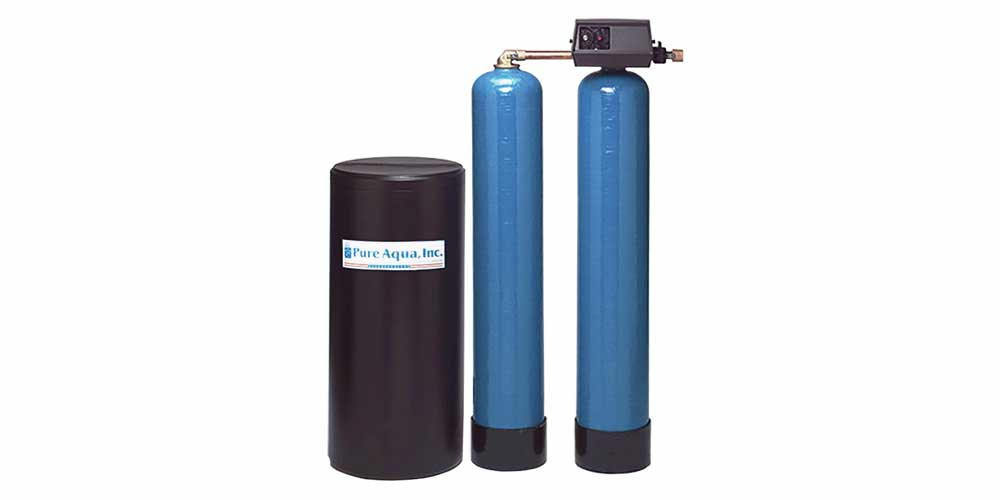Twin Tank Water Softener SF-900F with Fleck Valve - image1