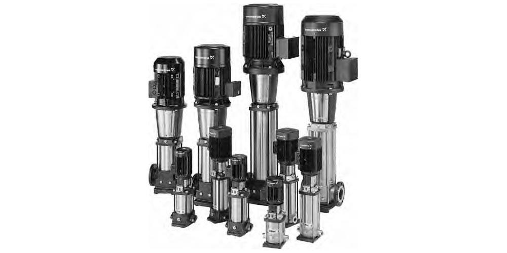 Grundfos CR, CRN High Pressure Pumps