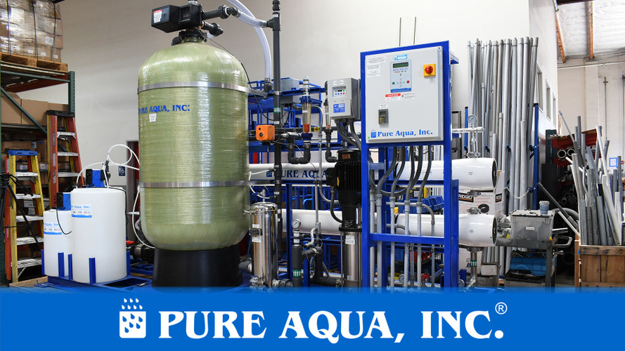Reverse Osmosis System for Spot Free Rinse 43,000 GPD