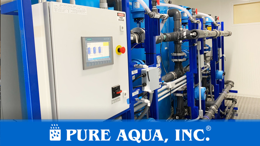 RO Systems for Chemical Processing 2 x 7,500 GPD