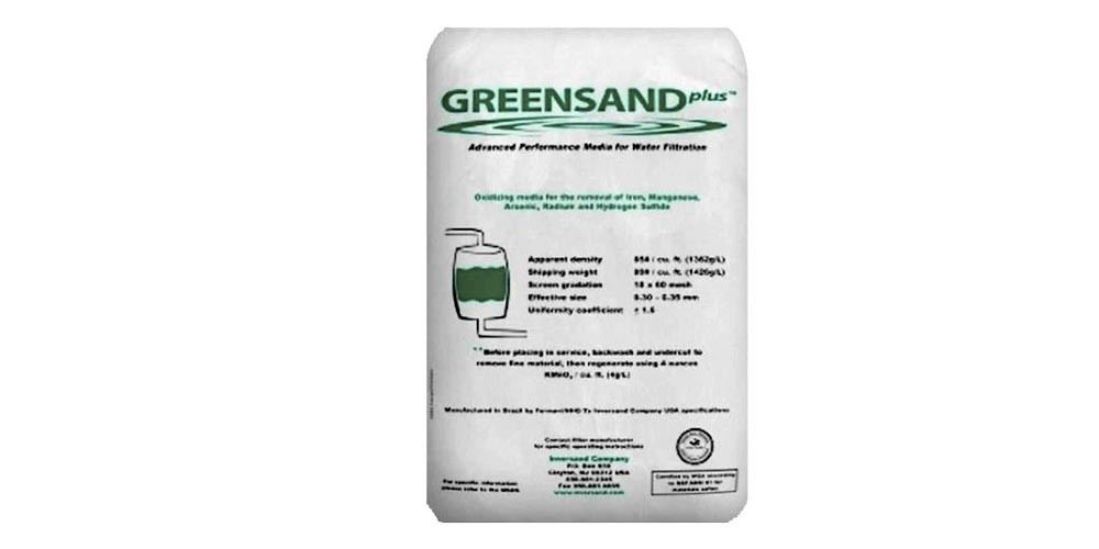 Clack Greensand Filtration Media