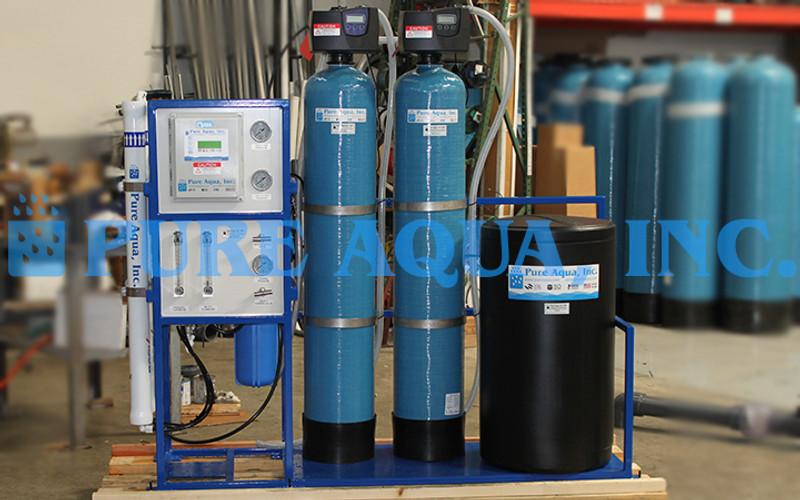 Skid Mounted Water Filtration System 1 200 Gpd Usa Pure Aqua Inc
