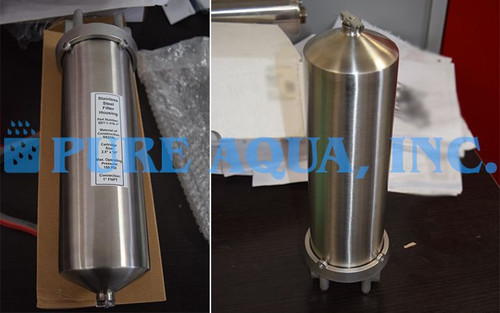 Stainless Steel Cartridge Filter Housing with UV 53 x 7,200 GPD – Saudi Arabia