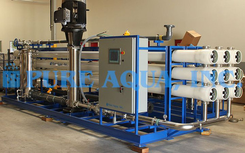 Industrial Reverse Osmosis System for Cooling Towers - Kuwait