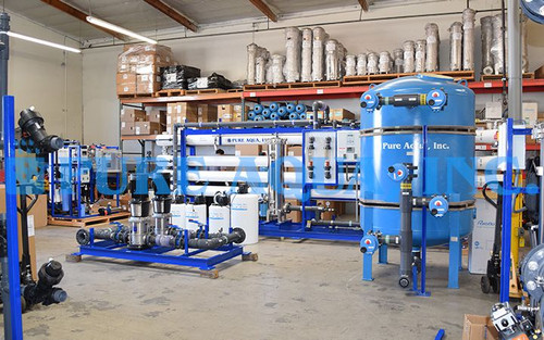 Industrial Reverse Osmosis System for Well Water Treatment for Agriculture - Qatar