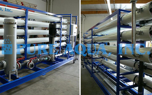 Industrial Reverse Osmosis System for Potable Water - UAE