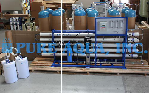 Commercial Reverse Osmosis System to Lower TDS - USA