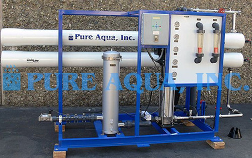 Industrial Brackish Water Reverse Osmosis Unit - Tunisia