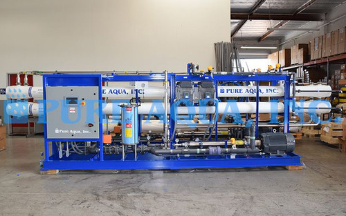 Seawater Reverse Osmosis System 2X 48,000 GPD - Belize